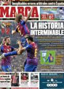Portada diario Marca del 19 de Enero de 2012