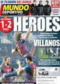 Portada Mundo Deportivo del 19 de Enero de 2012