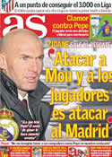 Portada diario AS del 20 de Enero de 2012