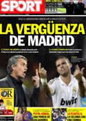 Portada diario Sport del 20 de Enero de 2012
