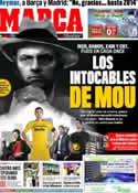 Portada diario Marca del 21 de Enero de 2012