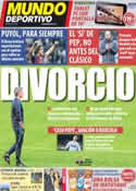 Portada Mundo Deportivo del 21 de Enero de 2012