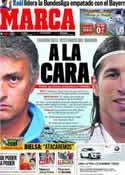 Portada diario Marca del 22 de Enero de 2012