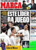 Portada diario Marca del 23 de Enero de 2012