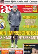 Portada diario AS del 24 de Enero de 2012