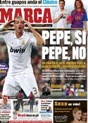 Portada diario Marca del 24 de Enero de 2012