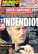 Portada Mundo Deportivo del 24 de Enero de 2012