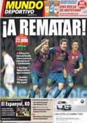 Portada Mundo Deportivo del 25 de Enero de 2012