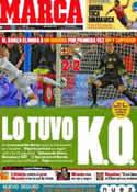 Portada diario Marca del 26 de Enero de 2012