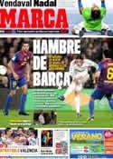 Portada diario Marca del 27 de Enero de 2012