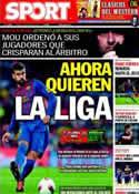 Portada diario Sport del 28 de Enero de 2012