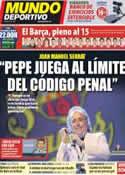 Portada Mundo Deportivo del 28 de Enero de 2012