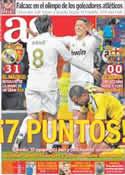 Portada diario AS del 29 de Enero de 2012