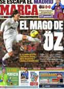 Portada diario Marca del 29 de Enero de 2012