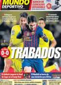 Portada Mundo Deportivo del 29 de Enero de 2012