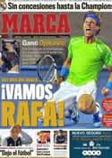 Portada diario Marca del 30 de Enero de 2012