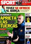 Portada diario Sport del 31 de Enero de 2012
