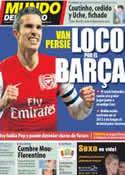 Portada Mundo Deportivo del 31 de Enero de 2012