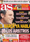 Portada diario AS del 1 de Febrero de 2012