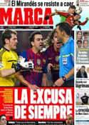 Portada diario Marca del 1 de Febrero de 2012