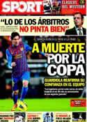 Portada diario Sport del 1 de Febrero de 2012
