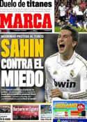 Portada diario Marca del 2 de Febrero de 2012