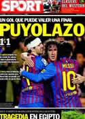 Portada diario Sport del 2 de Febrero de 2012