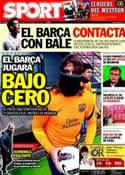 Portada diario Sport del 3 de Febrero de 2012