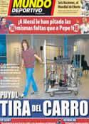 Portada Mundo Deportivo del 3 de Febrero de 2012