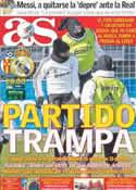 Portada diario AS del 4 de Febrero de 2012