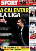 Portada diario Sport del 4 de Febrero de 2012