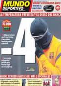 Portada Mundo Deportivo del 4 de Febrero de 2012