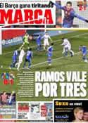 Portada diario Marca del 5 de Febrero de 2012