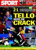 Portada diario Sport del 5 de Febrero de 2012