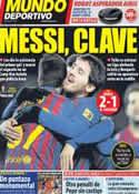 Portada Mundo Deportivo del 5 de Febrero de 2012