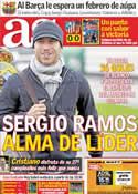 Portada diario AS del 6 de Febrero de 2012