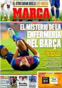 Portada diario Marca del 6 de Febrero de 2012