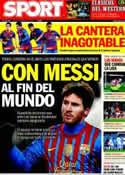 Portada diario Sport del 6 de Febrero de 2012