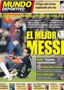 Portada Mundo Deportivo del 6 de Febrero de 2012