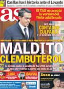 Portada diario AS del 7 de Febrero de 2012