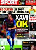 Portada diario Sport del 7 de Febrero de 2012