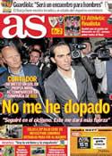 Portada diario AS del 8 de Febrero de 2012