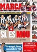 Portada diario Marca del 8 de Febrero de 2012
