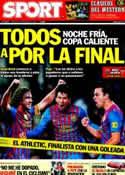Portada diario Sport del 8 de Febrero de 2012