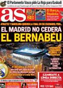 Portada diario AS del 9 de Febrero de 2012