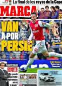 Portada diario Marca del 9 de Febrero de 2012