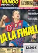 Portada Mundo Deportivo del 9 de Febrero de 2012