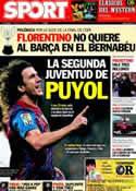 Portada diario Sport del 10 de Febrero de 2012