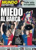 Portada Mundo Deportivo del 10 de Febrero de 2012