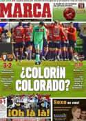 Portada diario Marca del 12 de Febrero de 2012